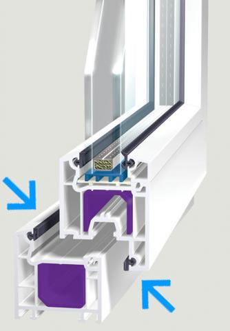 резиновые уплотнители для окон и балконной двери