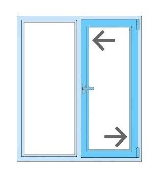 регулювання фурнітури пластикового вікна
